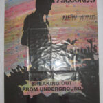 7 Seconds - New Wind - 1996 Record store promo poster Better Youth Organization