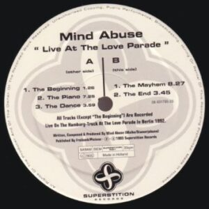 Mind Abuse - Live At The Love Parade