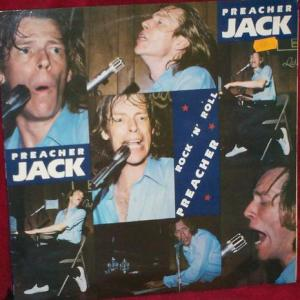 Preacher Jack - Rock 'N' Roll Preacher - Vinyl LP on Rounder Records