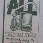 All - Percolator - 1992 tour poster