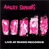 Angry Samoans - Live At Rhino Records - Cassette tape of LA punk on Triple XXX Records