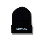 Audio Slave - Wave Logo - Black Beanie Hat