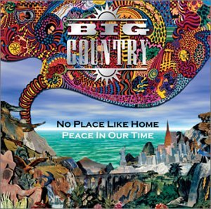 Big Country - Peace In Our Time - Cassette tape UK import on Phongram Records