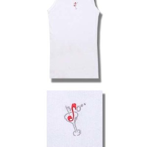 Brian Setzer - Martini Glass - Tank Top