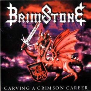 Brimstone - Carving A Crimson Carreer - CD on Nuclear Blast Records