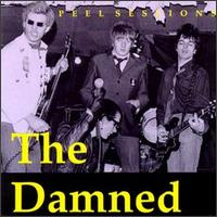 The Damned - The Peel Sessions - Cassette tape on Strange Fruit Records