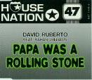 David Ruberto Featuring Rahan Williams - Papa Was A Rolling Stone - 12 Inch Vinyl on Dance Street Records