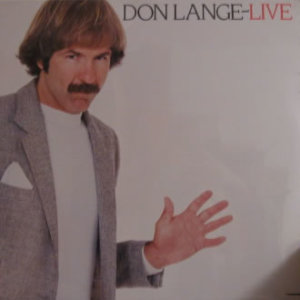 Don Lange - Live - Vinyl album on Flying Fish Records