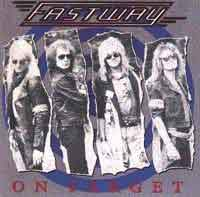 Fastway - On Target - Vinyl album featuring Fast Eddie Clarke of Motorhead on Enigma Records