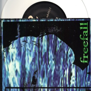 Freefall - On And On - White vinyl 7 inch on Redemption Records