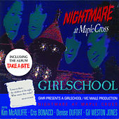 Girlschool - Nightmare At Maple Cross - Cassette tape on Profile Records
