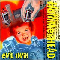 Hammerhead - Evil Twin - Cassette tape on Amphetamine Reptile Records