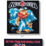 Helloween - Jack With Cigar World Tour - Concert Shirt