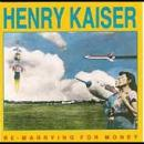 Henry Kaiser - Re-Marrying For Money - Cassette tape on SST Records