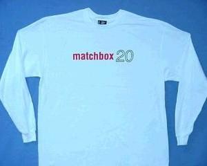 Matchbox 20 - Red Logo - Long Sleeve Shirt