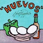 Meat Puppets - Huevos - Cassette tape on SST Records