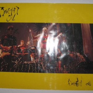 Midnight Oil - Diesel and Dust - 1987 Record store promotional poster