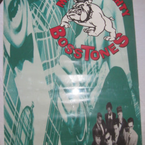 The Mighty Mighty Bosstones - Don't Know How To Party - 1993 Album cover Record store promo poster