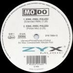 "Mo-Do - Eins, Zwei, Polizei - 12"" Vinyl single on ZYX Records"