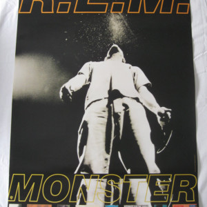 REM - Monster - 1994 Retail promo poster