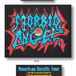 Morbid Angel - American Heretic Tour - Shirt