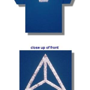 Mudvayne - Silver Triangle Logo - Shirt