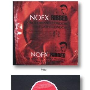 NOFX - Black Foil Condom - Shirt