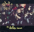 Old Skull - C.I.A. Drug Fest - Punk rock cassette tape on Restless records