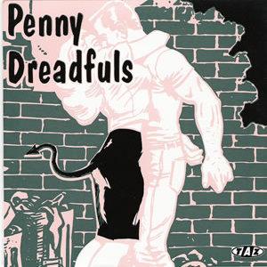 Penny Dreadfuls - Fodder - All Female Punk Rock 7 Inch Record