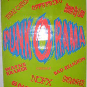 Epitaph Records Punk O Rama 1995 Compilation - Promotional record store poster