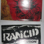 Rancid - Let's Go - 1994 record store promotional poster flat