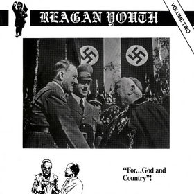 Reagan Youth - Volume 2 - Cassette tape on New Red Archives Records