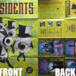 The Residents - Cube E : The History Of American Music In 3 E-Z Pieces - Full Color Poster