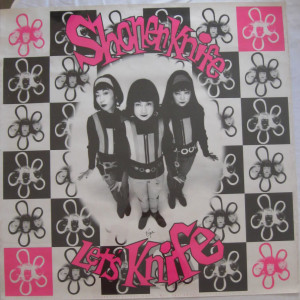 Shonen Knife - Let's Knife - 1993 record store promo poster