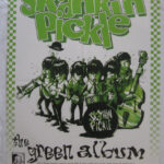 Skankin' Pickle - The Green Album - Record store promotional poster