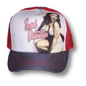 Social Distortion - Pin Up Girl - Baseball Hat