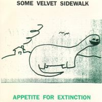 Some Velvet Sidewalk - Appetite For Extinction - Cassette tape on K Records