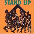 Stand Up - Words In Motion - Colored vinyl album on CI records 1991