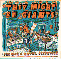 They Might Be Giants - She Was A Hotel Detective - Cassette tape on Bar None Records