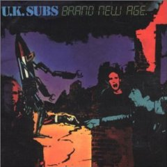 UK Subs - Brand New Age - Cassette tape on Pinnacle Records