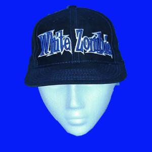 White Zombie - Blue 3D Logo - Baseball Hat