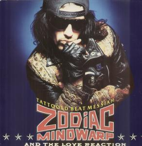 Zodiac Mindwarp And The Love Reaction - Tatooed Beat Messiah - Cassette tape on Polygram Records