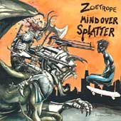 Zoetrope - Mind Over Splatter - Cassette tape on Red Light Records