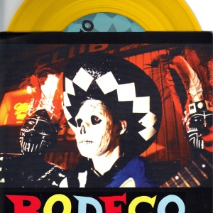 Bodeco - Suicide Ride - 1992 Homestead 7 Inch YELLOW Vinyl Record