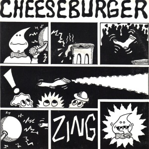 Cheeseburger - Sock In Mouth - 1995 Dionysus 7 Inch Vinyl Record