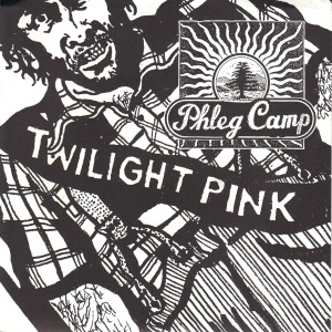 Phleg Camp - Twilight Pink - Allied Recordings 7 Inch Vinyl Record