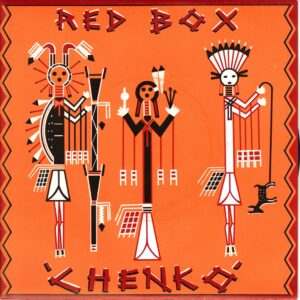 Red Box - Chenko - 1983 Cherry Red UK Import 7 Inch Vinyl Record