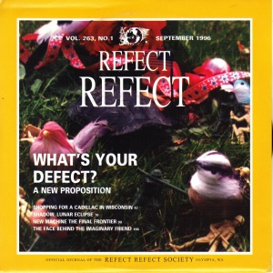 Refect Refect - What's Your Defect - Kill Rock Stars 7 Inch Vinyl Record