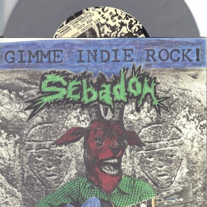 Sebadoh - Gimmie Indie Rock! - 1991 Homestead 7 Inch GREY Vinyl Record
