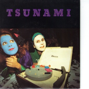 Tsunami - Geniuses Of Crack - 1992 Homestead 7 Inch Vinyl Records